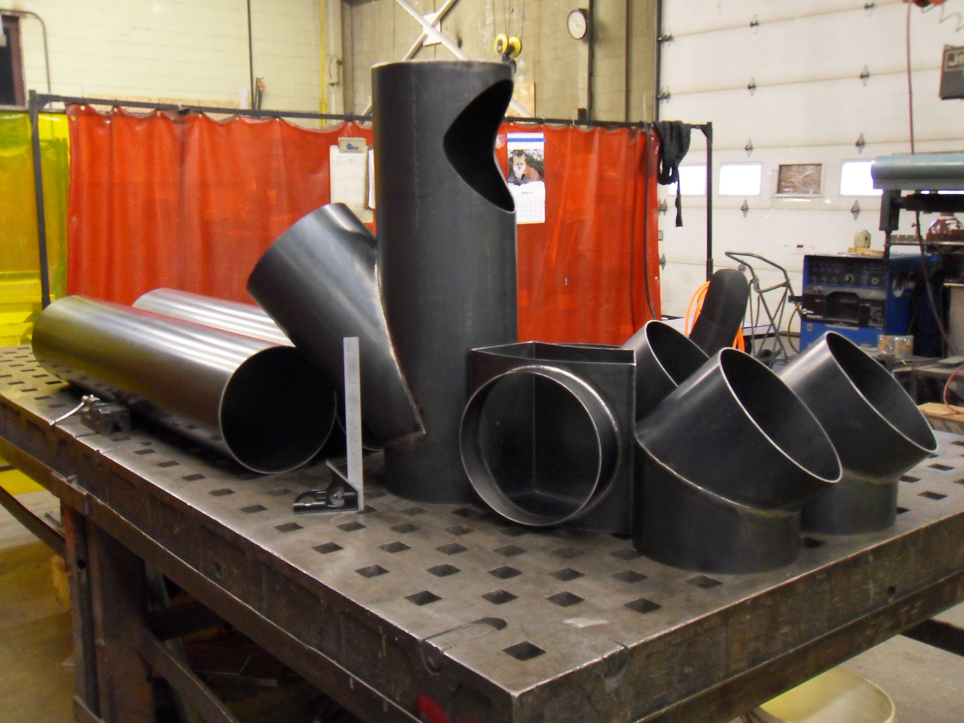 Rolling, Cutting, Welding & Machining of Steel Components